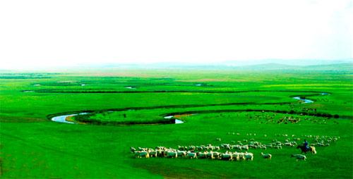 天边的草原 乌拉盖
