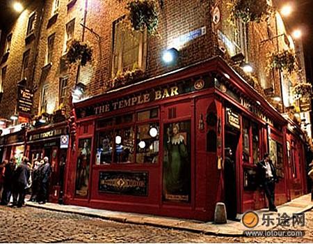 爱尔兰最热闹的酒吧街
