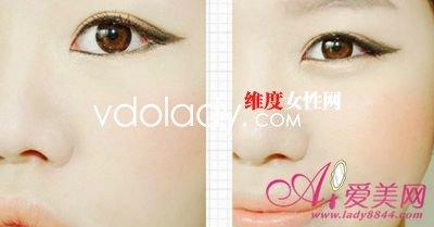 猫眼石少女妆画法解析 打造粉嫩清新眼妆