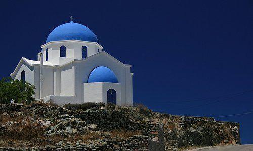 最原生态的希腊小岛