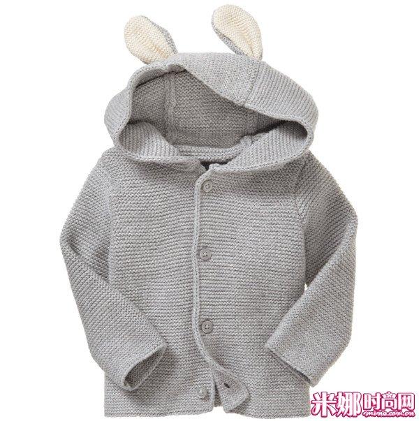 系列 彼得兔 potter beatrix babygap/Peter Rabbit兔子耳朵针织开衫_RMB249