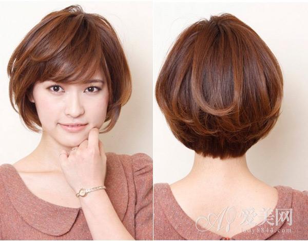 美容 发型潮流会 > 正文  这款短发效果要求的发量偏多一些,为了更好图片