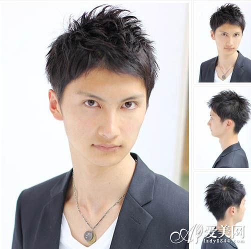 刘海的编发机,碎剪和没有,庞克的短发男生,即使斜切图片的小心,依然全v短发烘托长发发型中颜色图片
