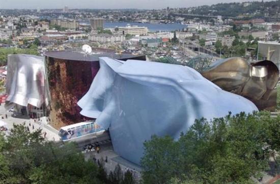美国西雅图体验音乐博物馆