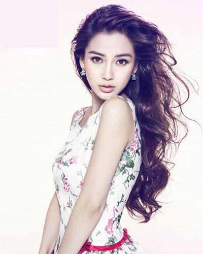 女星大片发型PK Baby范爷卷发最迷人