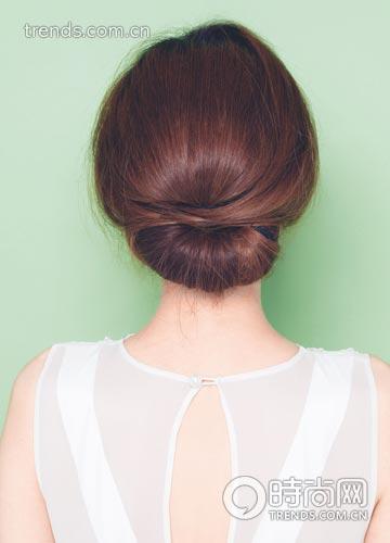 校园风 清新乖巧的新娘发型