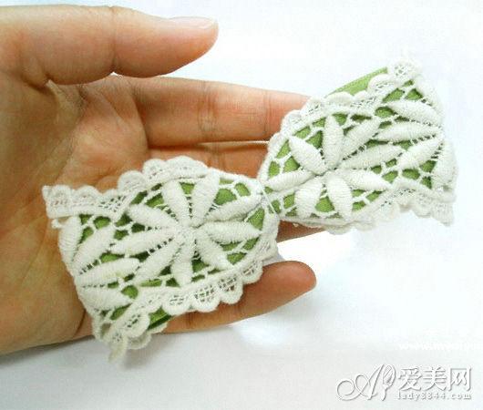 韩式蝴蝶结发夹diy 打造专属个性发饰