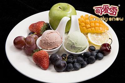 可爱雪冰激凌开创茶主题文化冰淇淋