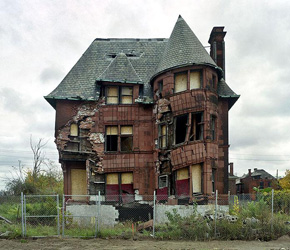 房价 崩盘 房子 底特律