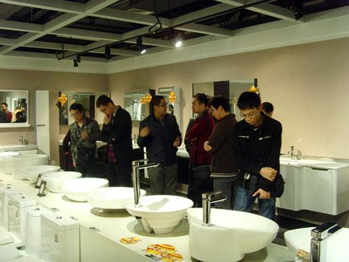 2012英皇卫浴高端设计师交流品鉴会