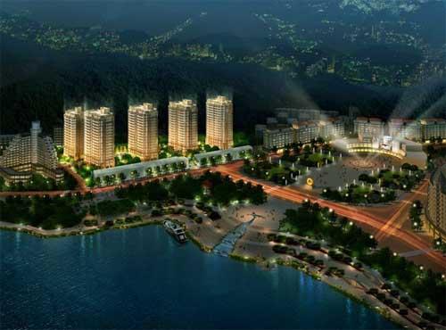 千岛湖柏润国际花园44—153平米高层均价12000元