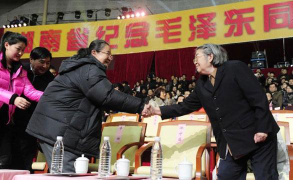湖南举行纪念毛泽东诞辰120周年文艺晚会