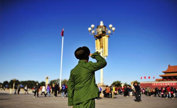 毛泽东警卫员50年后再回北京失声痛哭