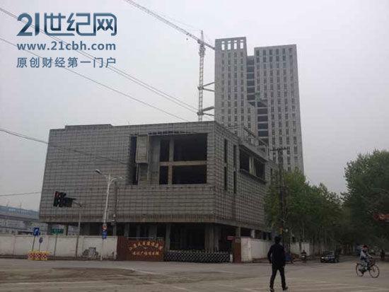 (福润广场全景/21世纪网周洲摄)