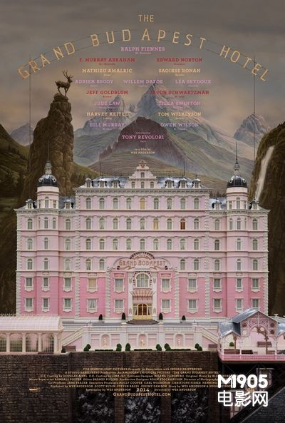 《布达佩斯大饭店》票房飘红 全球跨过1亿美金大关