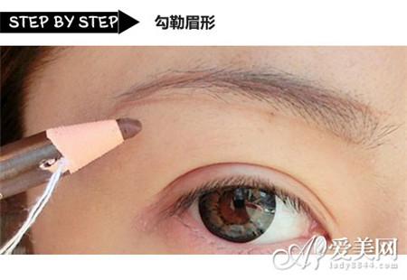 韩系大眼妆画法图解新手也能快速学会