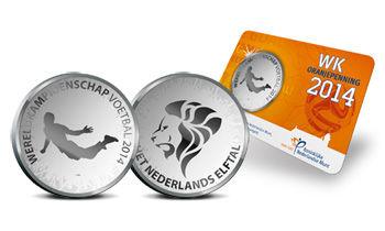 范佩西世界杯纪念币