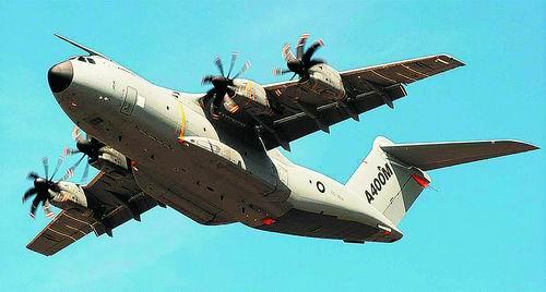下一代空中巨无霸:空客a400m大型军用运输机