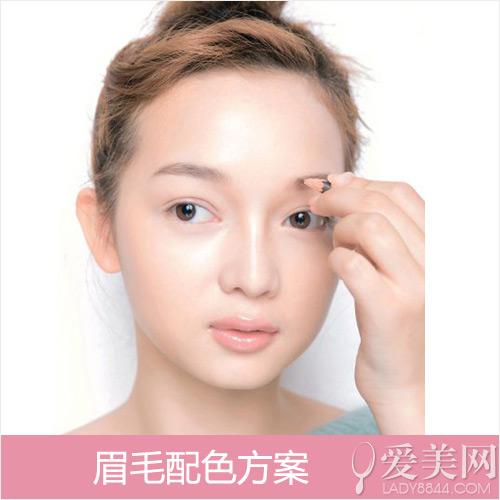 平粗眉不配钻石脸女星示范眉形与脸型的搭配