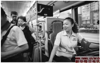 重庆:开路虎上班的公交女司机