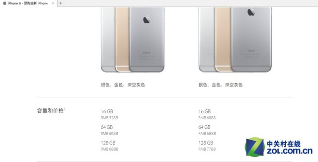 iPhone 6来袭内存不同差价为啥这么大?