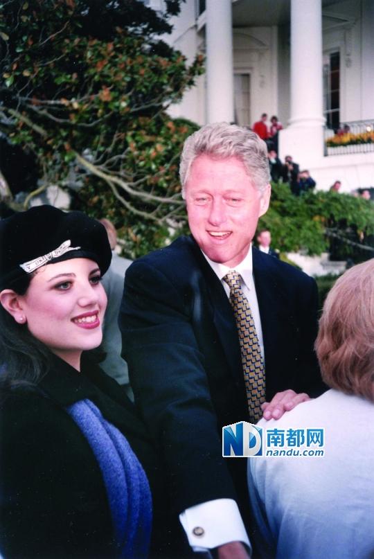 ... 克林顿白宫性丑闻事件|克林顿与莱温斯基|文档_凤凰