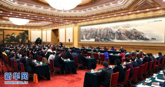 10月15日,中共中央总书记、国家主席、中央军委主席习近平在北京主持召开文艺工作座谈会并发表重要讲话。 新华社记者庞兴雷摄