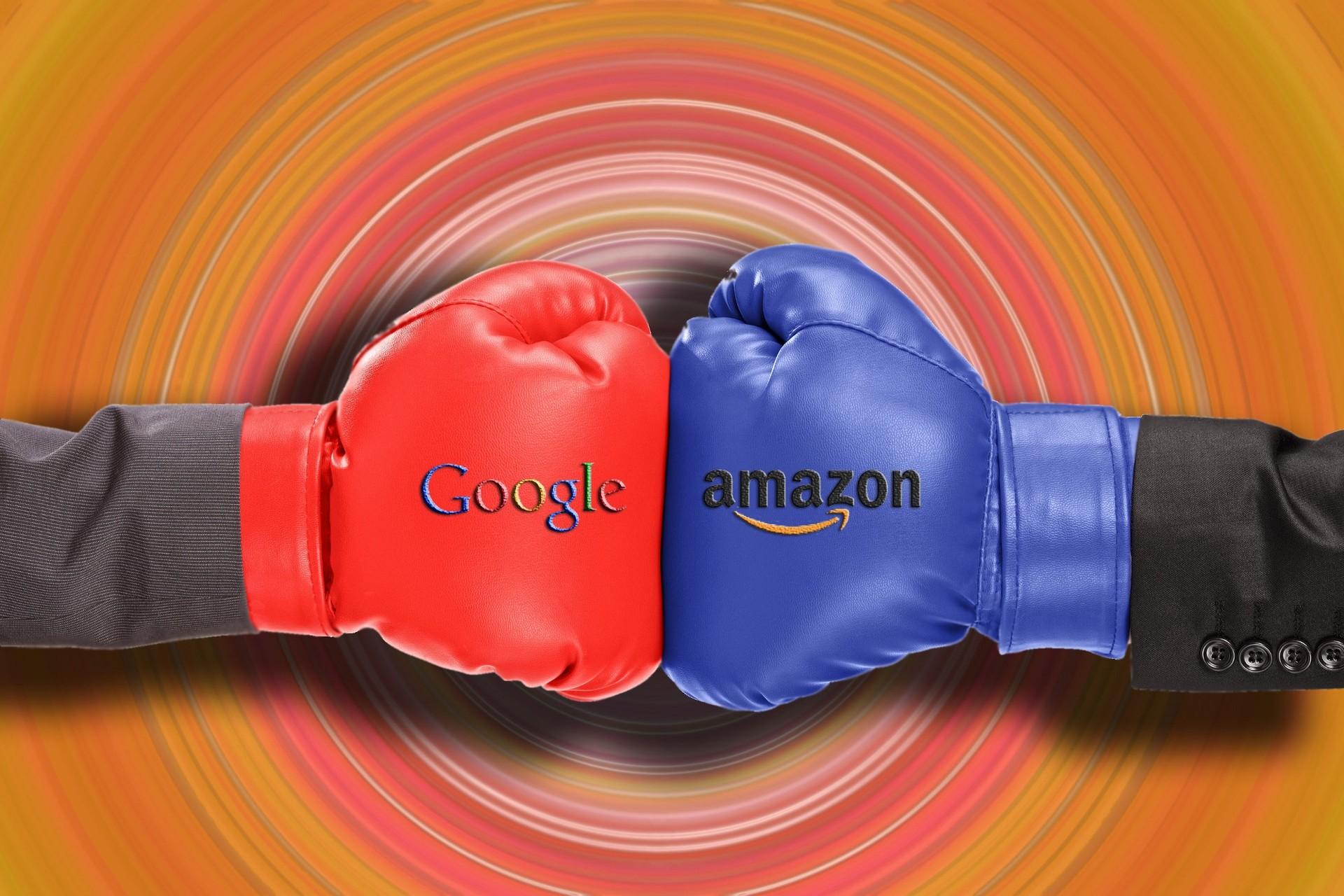 谷歌/谷歌VS亚马逊