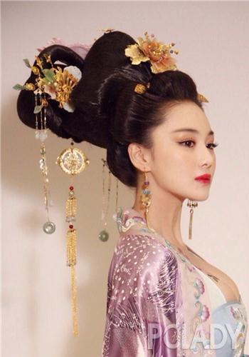 范冰冰领衔经典古装翻拍华美逆天发型呈现女皇完美一