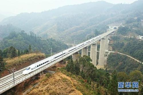 """中国高铁十宗""""最"""":高铁运营里程世界第一"""