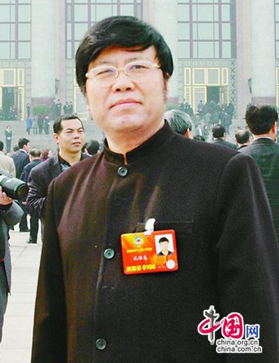 全国政协委员、孔子第78代嫡孙孔维克