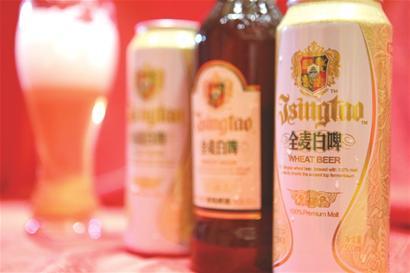 瞄准细分市场 青岛啤酒推全麦白啤