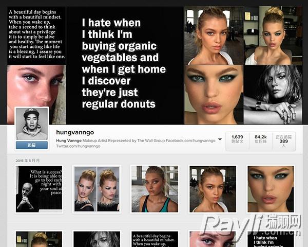 instagram,看到她们把名人从素颜变天鹅的实况转播~来看看这些明星图片