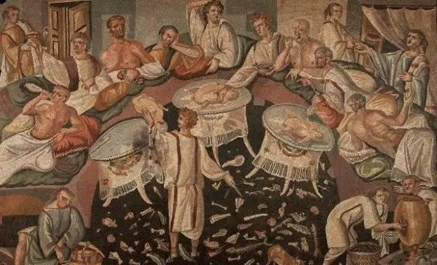10古罗马对葡萄酒的推动图片