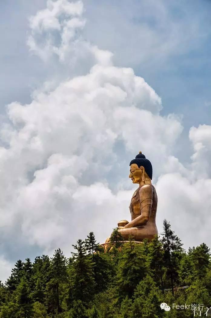中国制造不丹最大佛像