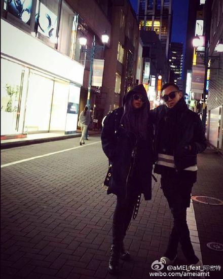 [明星爆料]日本马路变舞台 张惠妹等红灯摆帅气造型