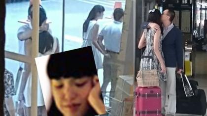 [明星爆料]李泽楷和长发女伴玩电动模型车 回应:对方是好友