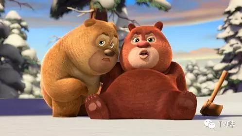 国产动漫藏大霹雳 熊大熊二搞基 光头强是电灯泡