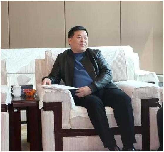 崇明县财政局副局长王成一行来访通江投资集团