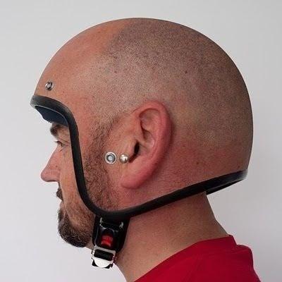 哈哈,这头盔不错~