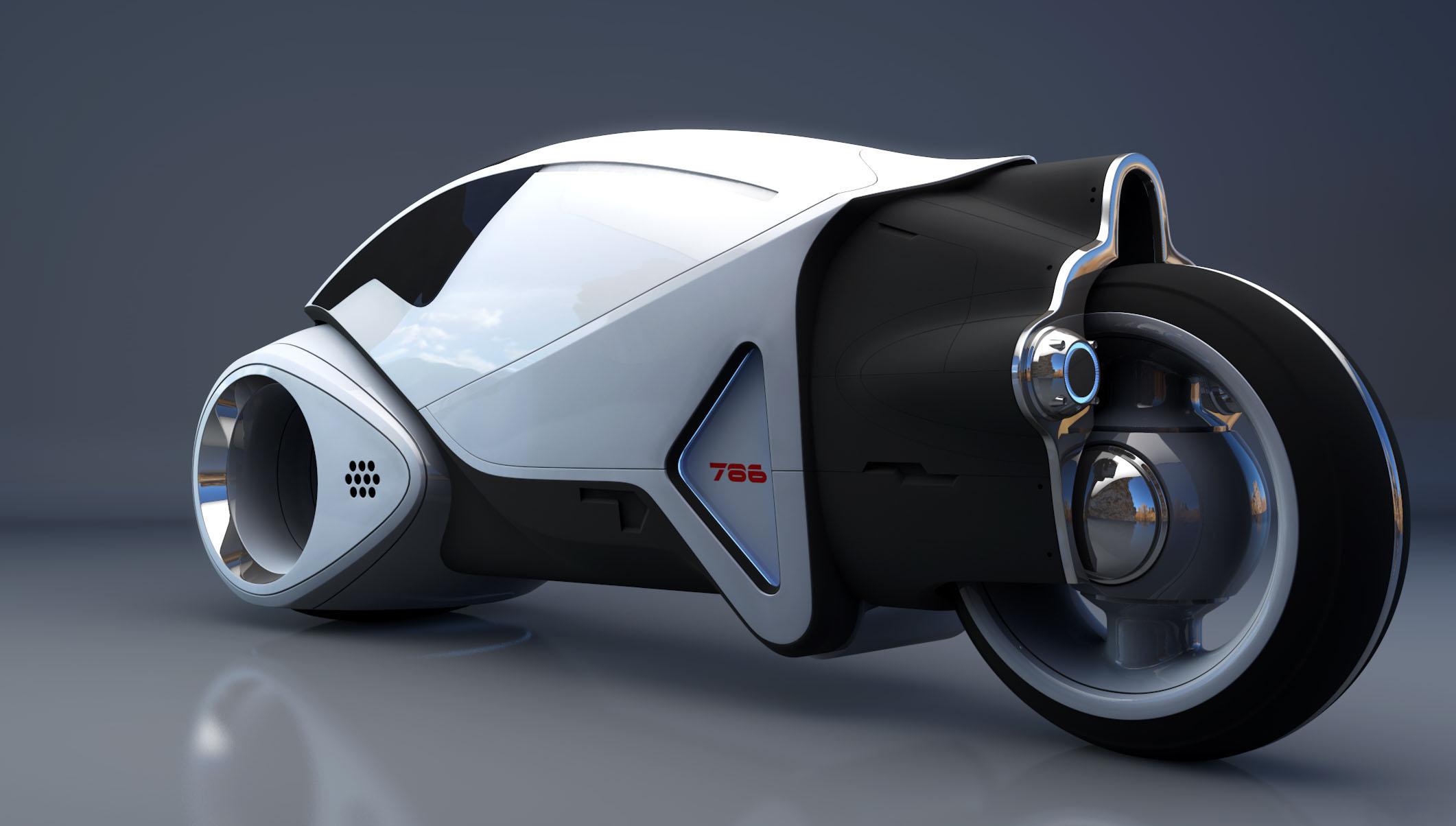 天才汽车设计师笔下的宇宙飞行器