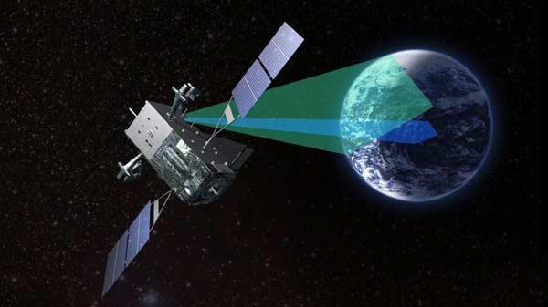 马航飞机卫星照片
