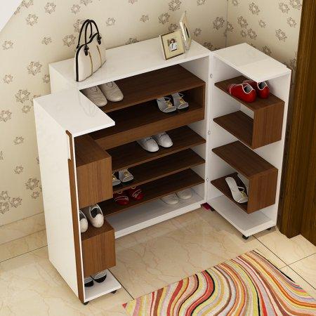 钢管布套鞋柜组装步骤图