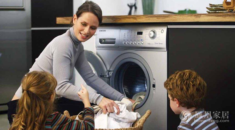 滚筒洗衣机要比波轮洗衣机省水得多
