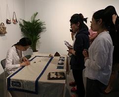 日本手艺协会拼布指导员、手作心灵疗愈专家张皙颖
