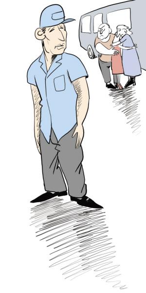 动漫欧式中年男