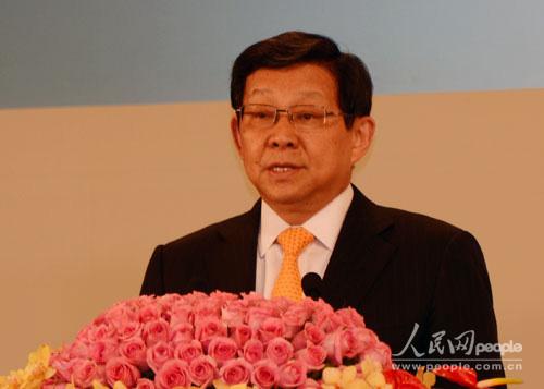 """商务部部长陈德铭出席""""中国发展高层论坛2012""""年会"""
