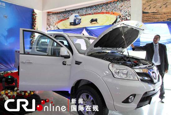 福田汽车新款皮卡 拓路者 正式亮相非洲市场高清图片