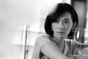 林志玲的裸妆的照片