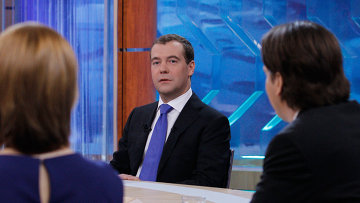 俄总统梅德韦杰夫表示愿意接替普京领导俄最大政党
